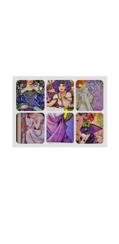 cover Mucha Grid Violet
