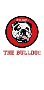 cover bulldog red