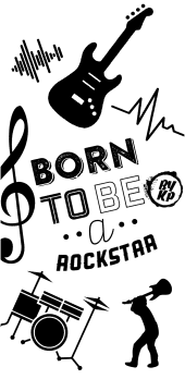 cover Born to be a rockstar