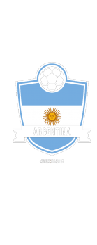 cover Argentina Football World Cup 2018 Fan T-shirt