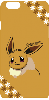 cover Eevee with flowers Cover