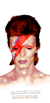 cover David Bowie white