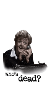 cover Who's Dead? - Jessica Fletcher.