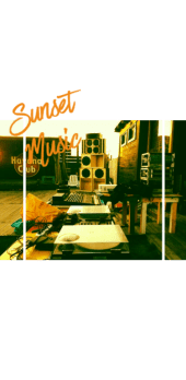 cover Sunset Music Style