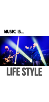 cover Music is life style
