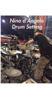 cover drum setting