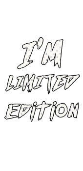 cover I'm limited edition cover