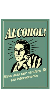 cover ALCOHOL!