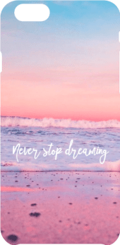 cover Never stop dreaming