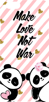 cover Love not War
