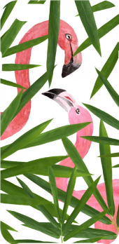 cover Flamingos in love