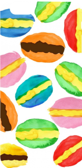 cover Macarons pattern