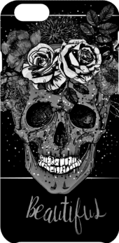 cover beautiful skull