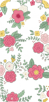 cover Flowers pattern
