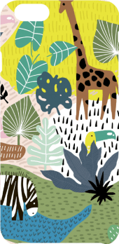 cover abstract jungle pattern