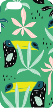 cover toucans pattern