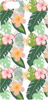 cover tropical pattern