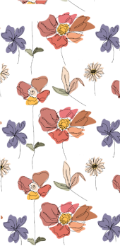 cover Floral pattern