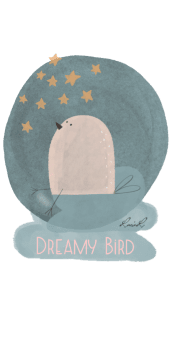 cover dreamy bird
