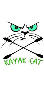 cover Kayak Cat Monster logo