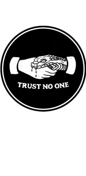 cover TRUST NO ONE
