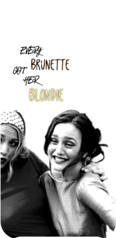 cover every brunette got her blondie (2.0)