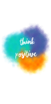 cover think positive