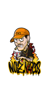 cover Noyz Narcos Cartoon by Muso4.20