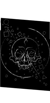 cover Abstract Space Skull
