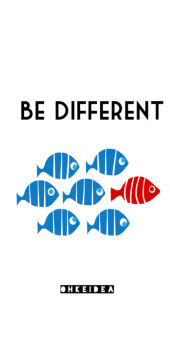 cover Be different