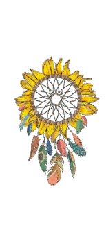 cover Sunflower Dream Catcher