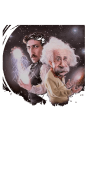 cover tesla e Einstein