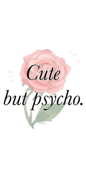 cover COVER CUTE BUT PSYCHO