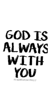 cover God is always with you