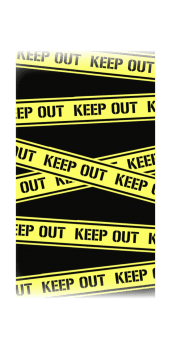 cover keep out