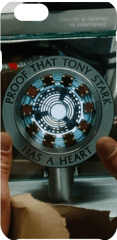 cover Proof that Tony Stark has a heart.