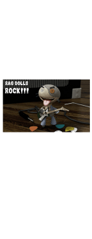 cover Guitarist puppet