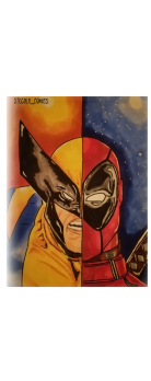cover Wolverine deadpool