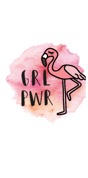 cover T-Shirt GRL PWR #Donna