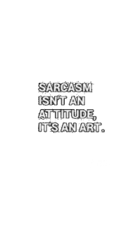 cover sarcasm