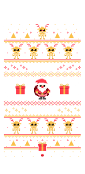 cover Natale ad 8-bit