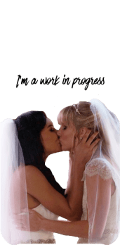 cover Brittana // Wedding