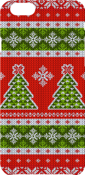 cover ugly christmas sweater pattern