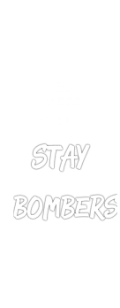cover keep calm and stay bombers