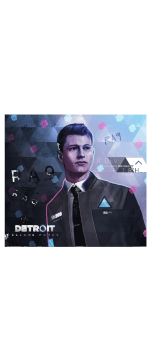 cover CONNOR DETROIT BECOME HUMAN