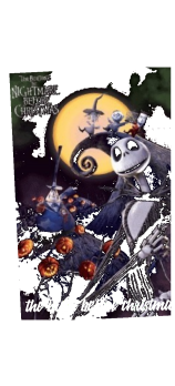 cover the night before christmas halloween