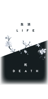 cover LIFE/DEATH