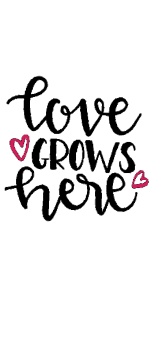 cover Love Grows Here Tshirt