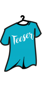 cover teeser your party t-shirt