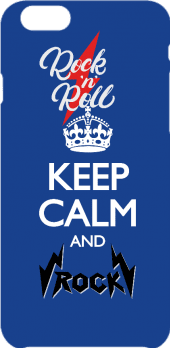 cover cover / t-shirt / felpa keep calm and rock